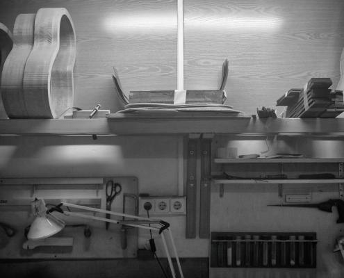 El taller de la luthier Yunah Park